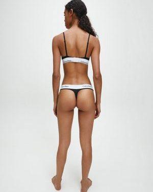 Calvin Klein Modern Cotton Thong Black