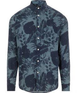 J.Lindeberg Seasonal Print Shirt navy