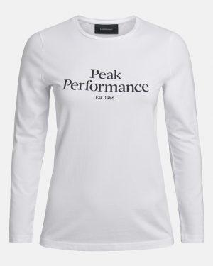 Peak Performance Original Long Sleeve Women White