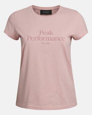 Peak Performance Original Tee Women Warm Blush