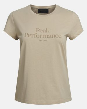 Peak Performance Original Tee Women Celsian Beige