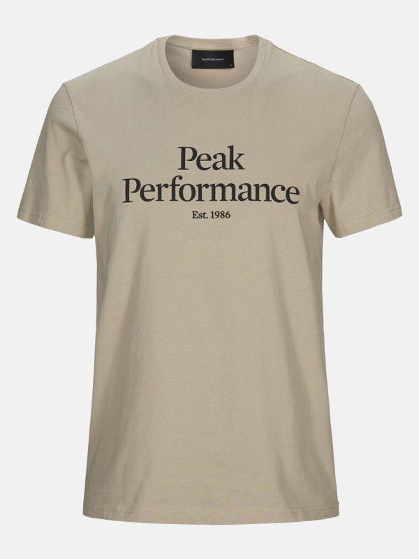 Peak Performance Original Tee Men Celsian Beige