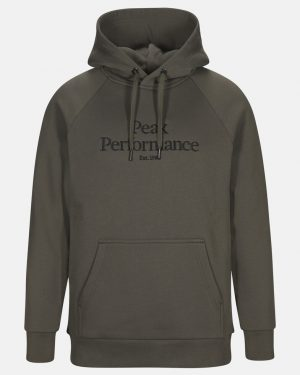 Peak Performance Original Hood Men Black Olive