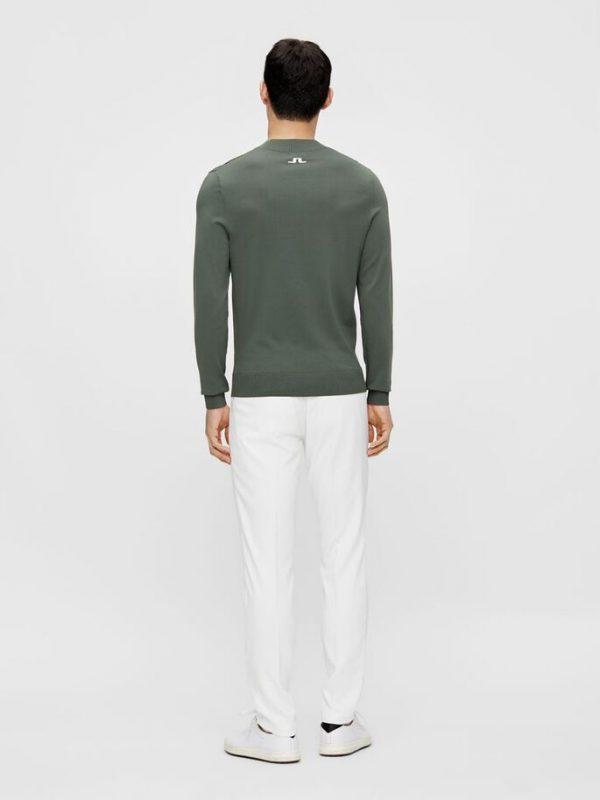 J.Lindeberg Gus Golf Sweater Thyme Green