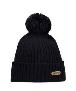 Superyellow Kide Beanie Black