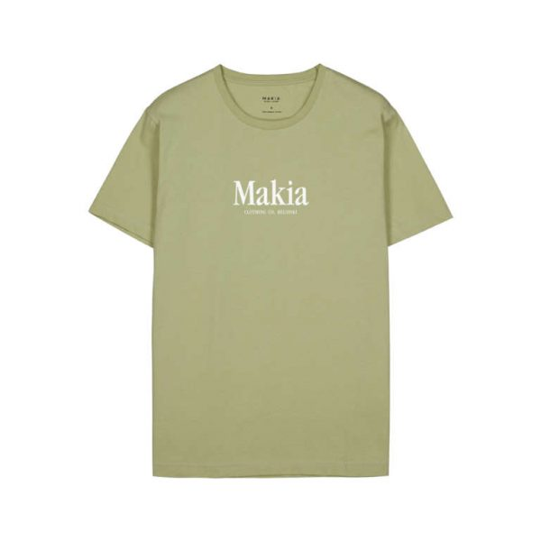Makia Strait T-shirt Light Blue