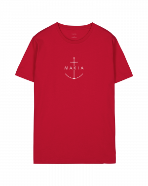 Makia Ankra T-shirt Red