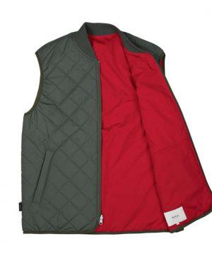 Makia Base Reversible Vest Thyme