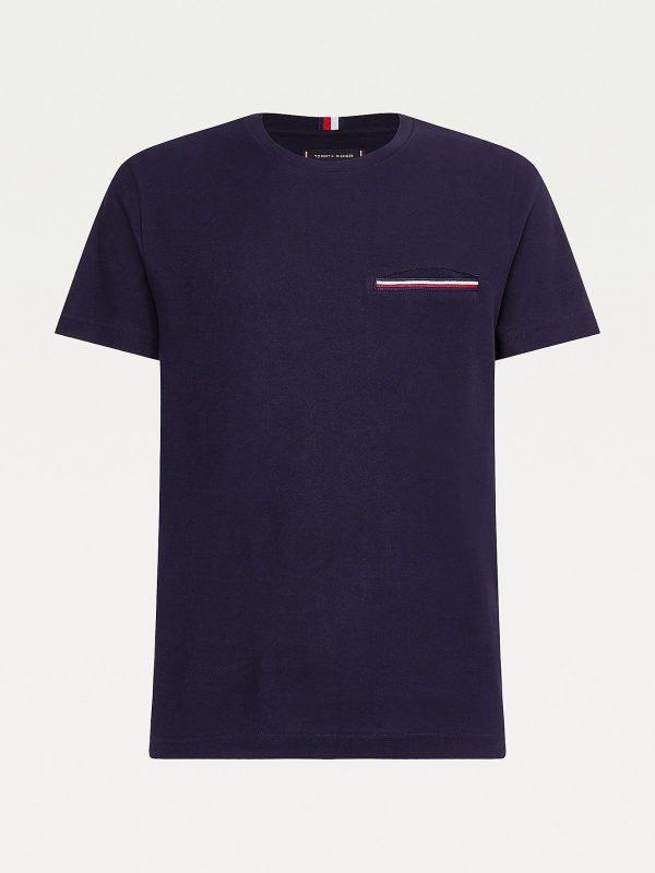 Tommy Hilfiger Pocket T-shirt Desert Sky