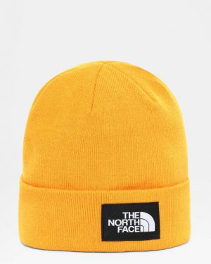 The North Face Dock Worker Recycled Beanie Summit Gold