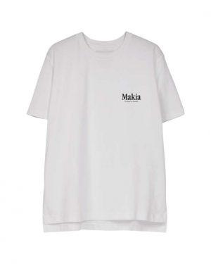 Makia Key T-shirt Women White