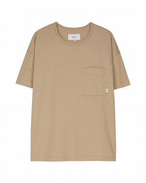 Makia Dusk T-shirt Beige
