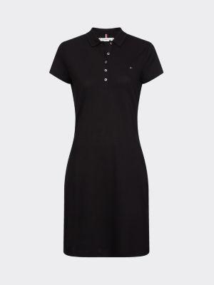 Tommy Hilfiger Slim Fit Polo Dress Black