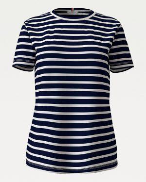 Tommy Hilfiger Cool Organic Cotton T-shirt Desert Sky/White