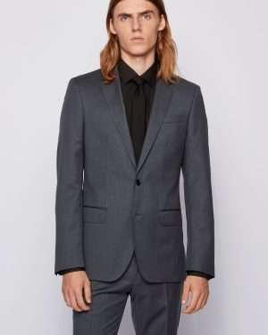 Hugo Boss Hayes Cyl Jacket Dark Grey