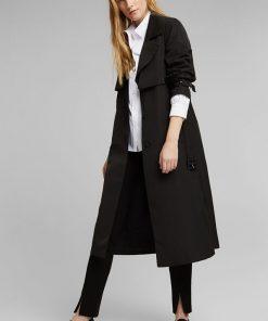 Esprit Trench Coat Black