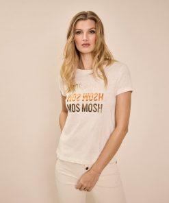 Mos Mosh O-SS Tee Ecru