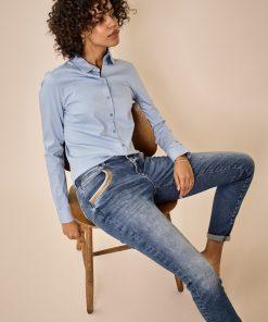 Mos Mosh Naomi Wave Jeans Blue