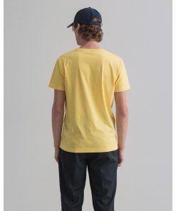 Gant The Orginal T-Shirt Brimestone Yellow