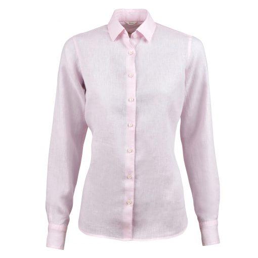 Stenströms Sofie Linen Shirt Light Pink