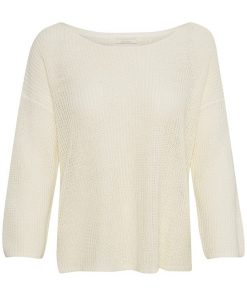 Part Two Cetrona Pullover White