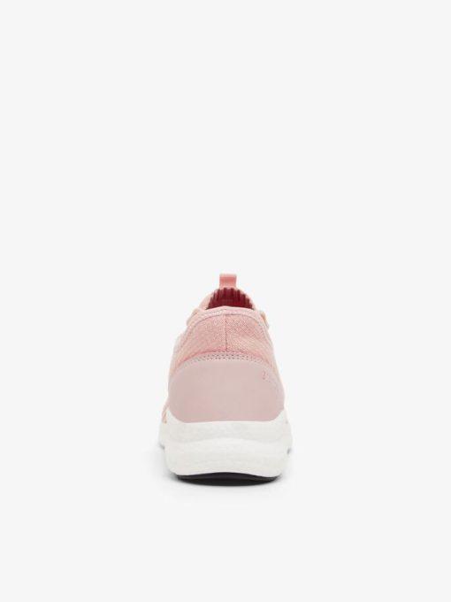 Bianco Biadelana Knit Sneakers Rose