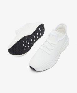 Bianco Biadelana Knit Sneakers White