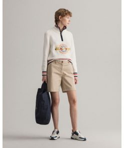 Gant Woman Chino Shorts Dry Sand