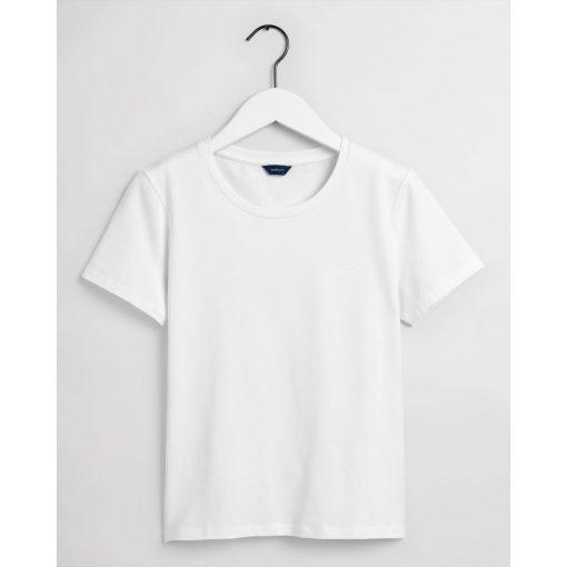 Gant Woman Basic T-shirt White