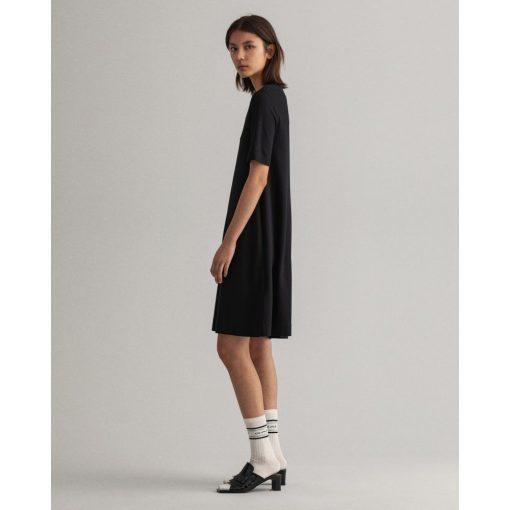 Gant Woman A-Line Jersey Dress Black