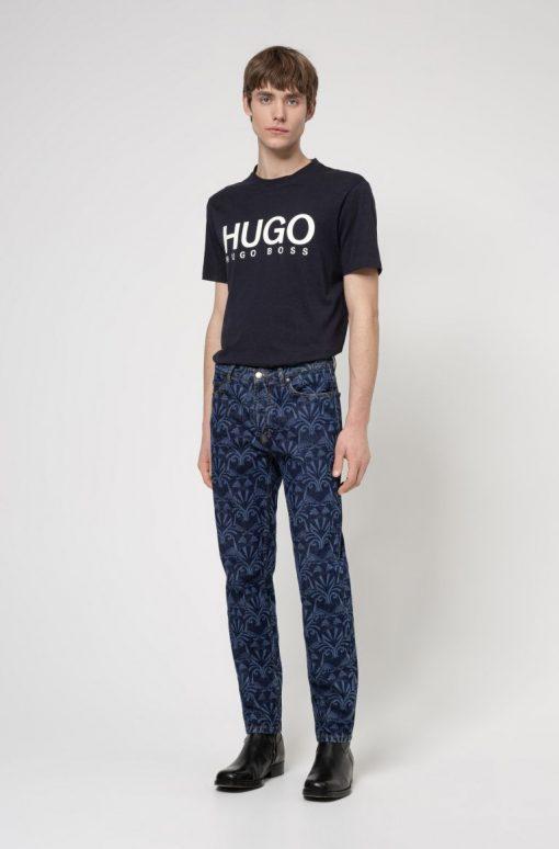 Hugo Boss Dolive212 T-shirt Dark Navy