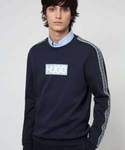 Hugo Boss Dubeshi Jersey Dark Blue