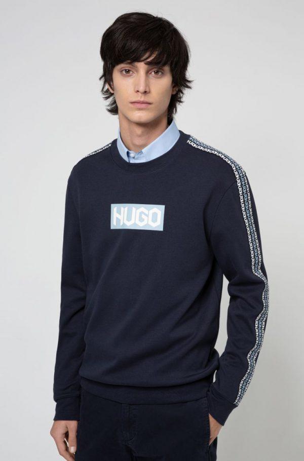 Hugo Boss Dubeshi Jersey Dark Blue