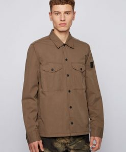 Hugo Boss Lovel 7 Overshirt Beige