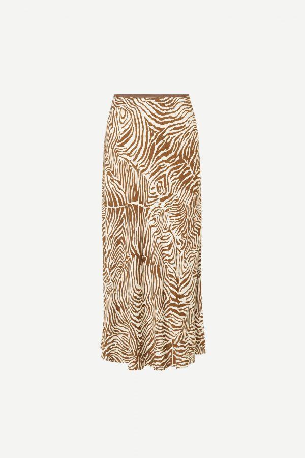 Samsoe & Samsoe Alsop Skirt Mountain Zebra