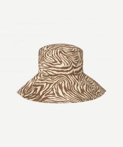 Samsoe & Samsoe Kenna Hat Mountain Zebra
