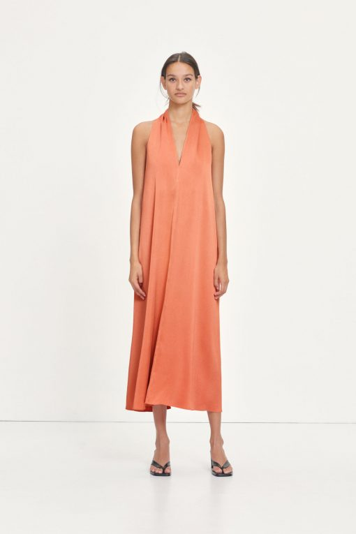 Samsoe & Samsoe Cille Dress Apricot Brandy