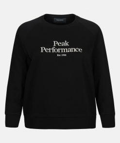Peak Performance Original Crew Women Black