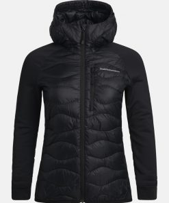 Peak Performance Helium Hybrid Jacket Women Black