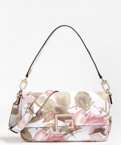 Guess Brightside Shoulder Bag Floral Fantasy