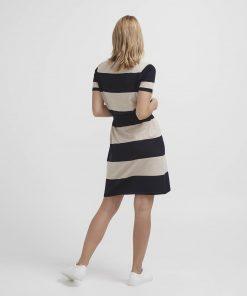 Holebrook Elly Tee Dress Navy/Khaki