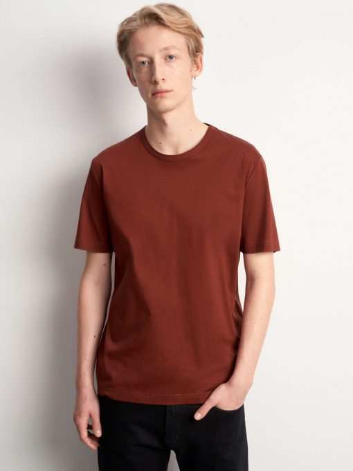 Tiger of Sweden Olaf T-shirt Rust Red