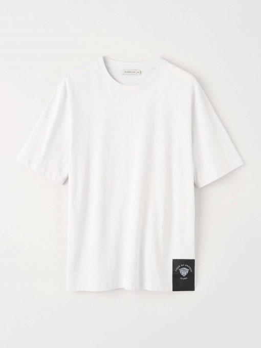 Tiger Jeans Pro T-shirt White Stone