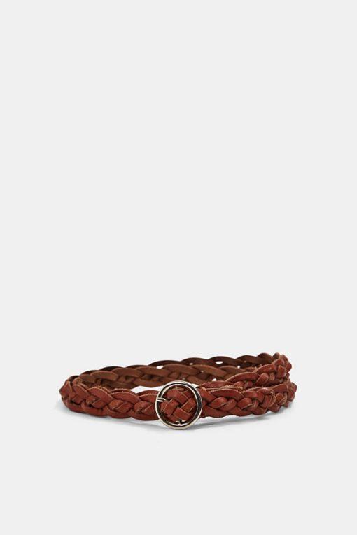 Esprit Leather Belt Caramel