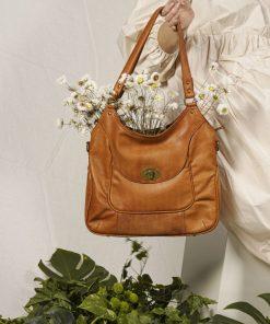 RE:DESIGNED Abeline Urban Large Bag Tan