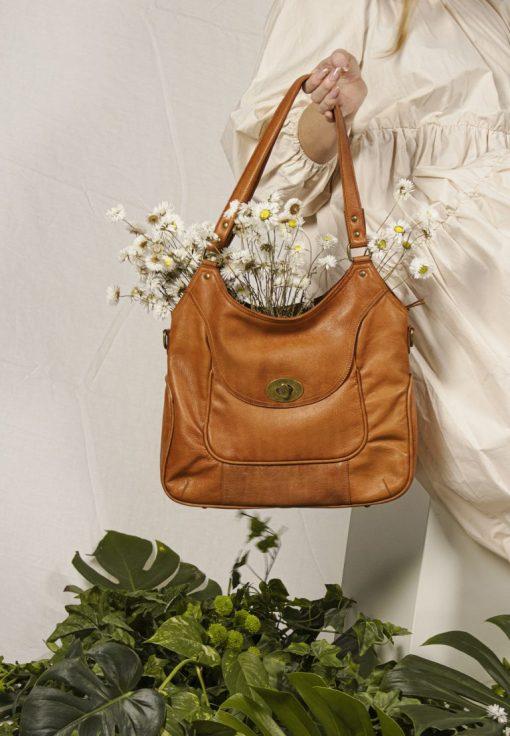 RE:DESIGNED Abeline Urban Large Bag TanrRreR