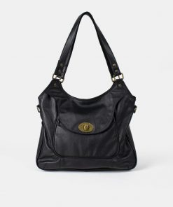 RE:DESIGNED Abeline Urban Large Bag Black