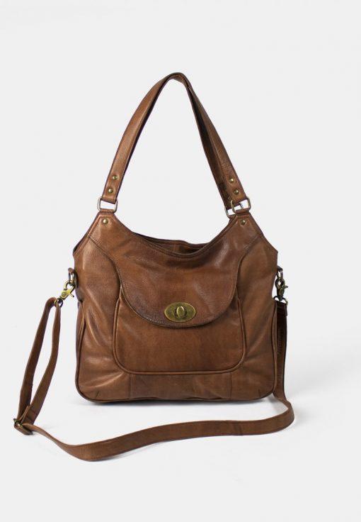 RE:DESIGNED Abeline Urban Large Bag Walnut