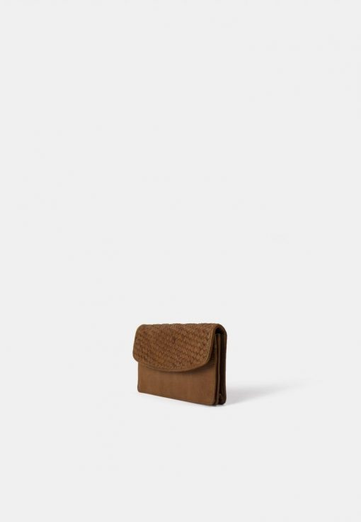 RE:DESIGNED Brady Big Wallet Tan
