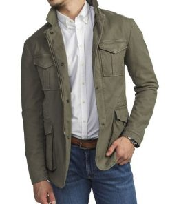 Hansen & Jacob Cotton Blaze Jacket Green